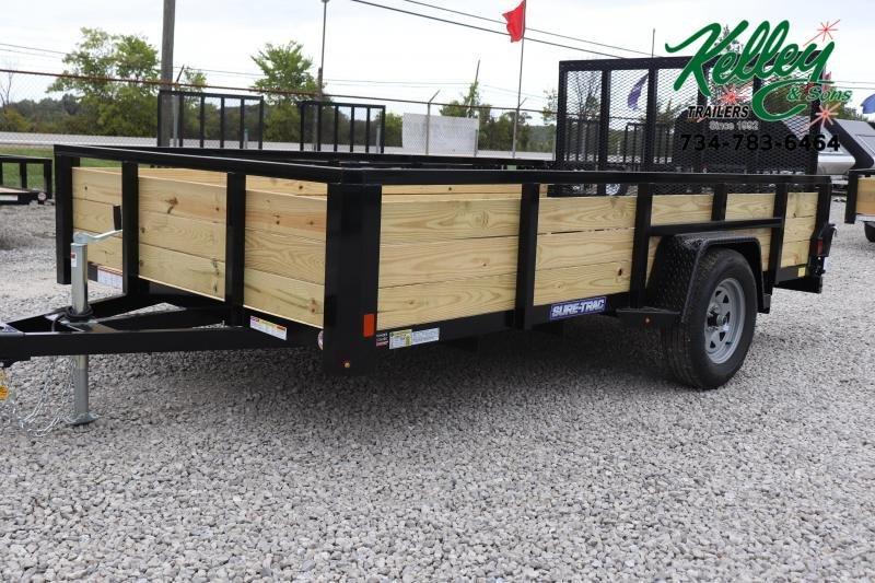 2021 Sure-Trac 7x12 3-Board Utility Trailer