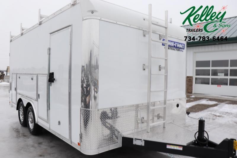 2021 Sure-Trac 8.5x16 10K Contractor Pro Enclosed Cargo Trailer