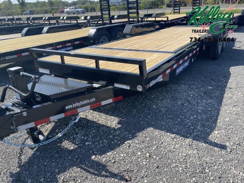 2022 Sure-Trac 7x18+4 16K Tilt Bed Equipment Trailer