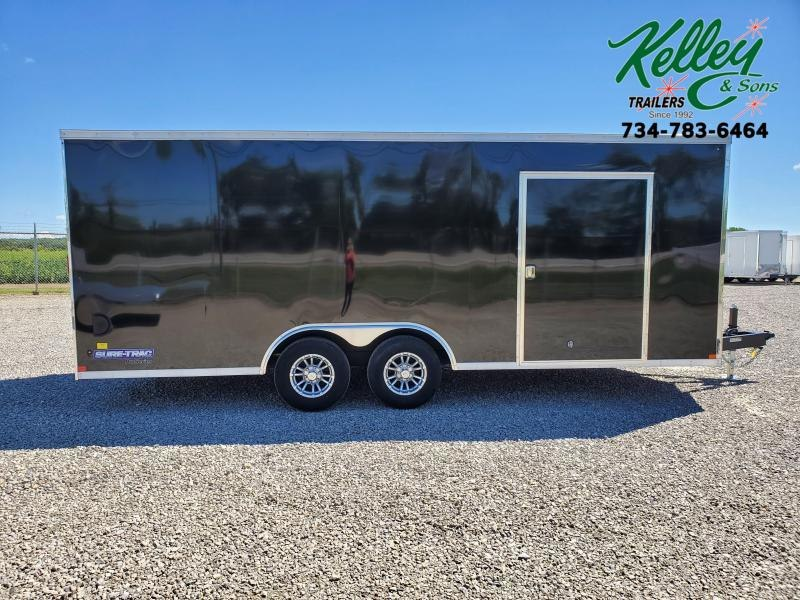 2020 Sure-Trac 8.5x20 10K Wedge Car Hauler Enclosed Cargo Trailer