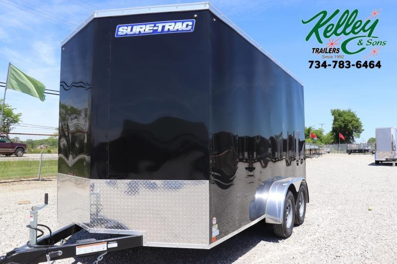 2020 Sure-Trac 7x14 7K Wedge Enclosed Cargo Trailer
