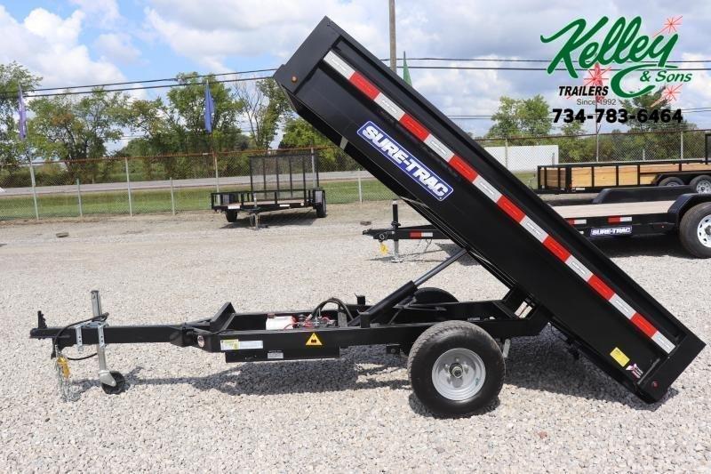 2021 Sure-Trac 4.5x8 Utility Dump Trailer