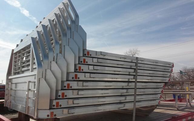 2020 Aluma 81106 Single Wheel Long Bed Aluminum Truck Bed