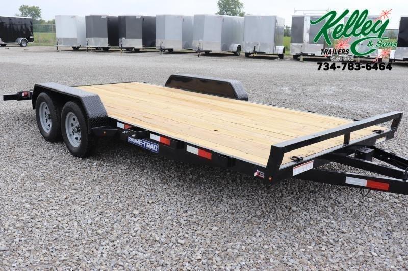 2022 Sure-Trac 7x18 7K Wood Deck Car Hauler