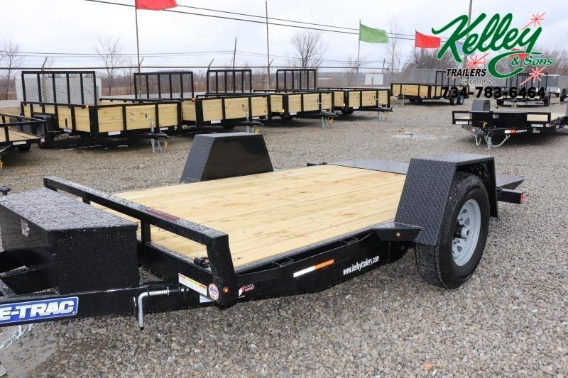 "2021 Sure-Trac 78""x12 7.8K Tilt Bed Equipment Trailer"
