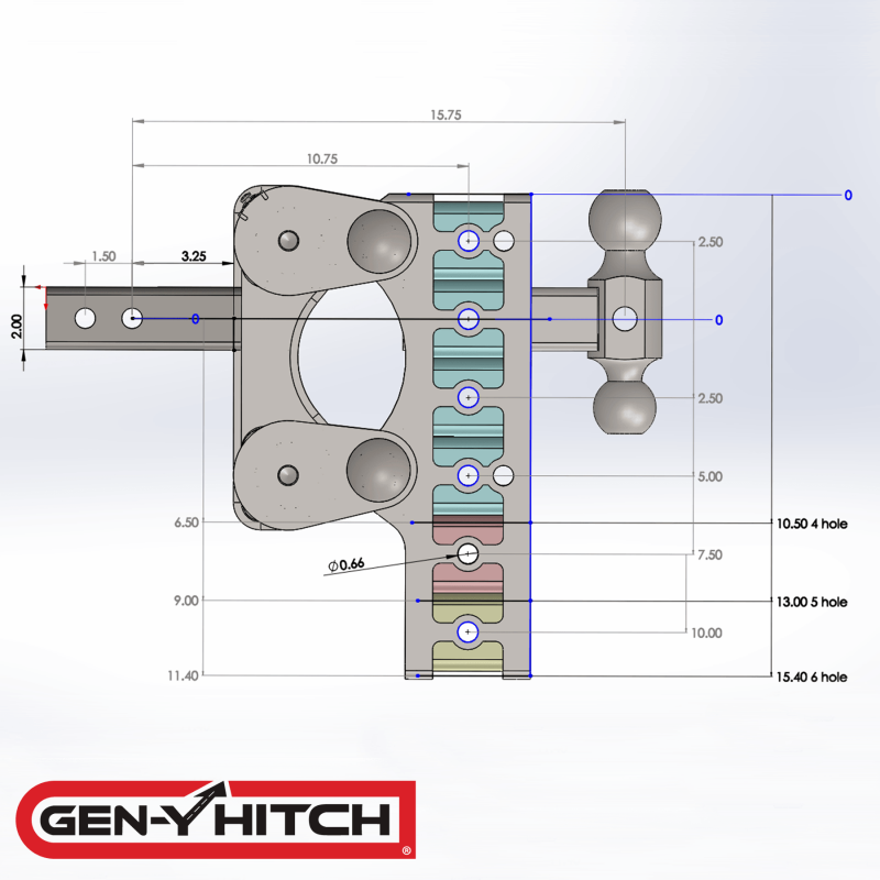 2020 Gen-Y Hitch GH-1224