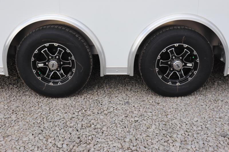 2021 Bravo Trailers 8.5x24 10K Silver Star Aluminum Car / Racing Trailer