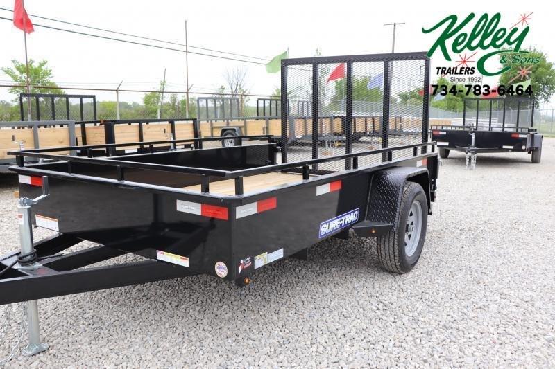 2022 Sure-Trac 6X10 Steel High Side Utility Trailer