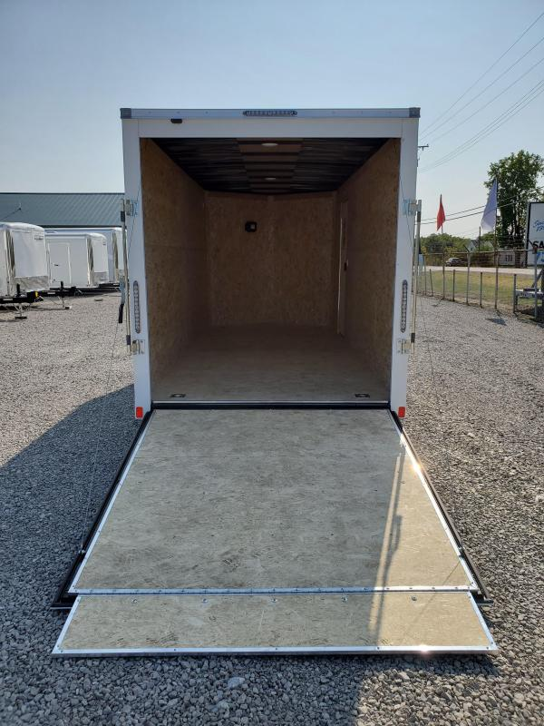2021 7x16 7K Bravo Scout w/ Ramp Door Enclosed Cargo Trailer