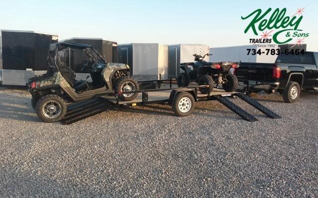 2021 Sure-Trac 7x14 ATV Tube Top Utility Trailer