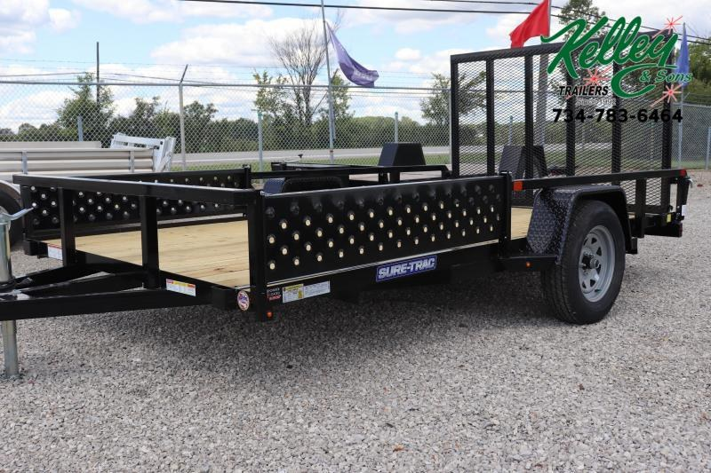 2021 Sure-Trac 7x12 Tube Top ATV Trailer
