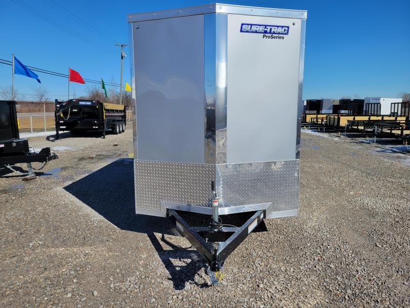 2021 Sure-Trac 6x12 3K Pro Series Wedge Cargo Trailer