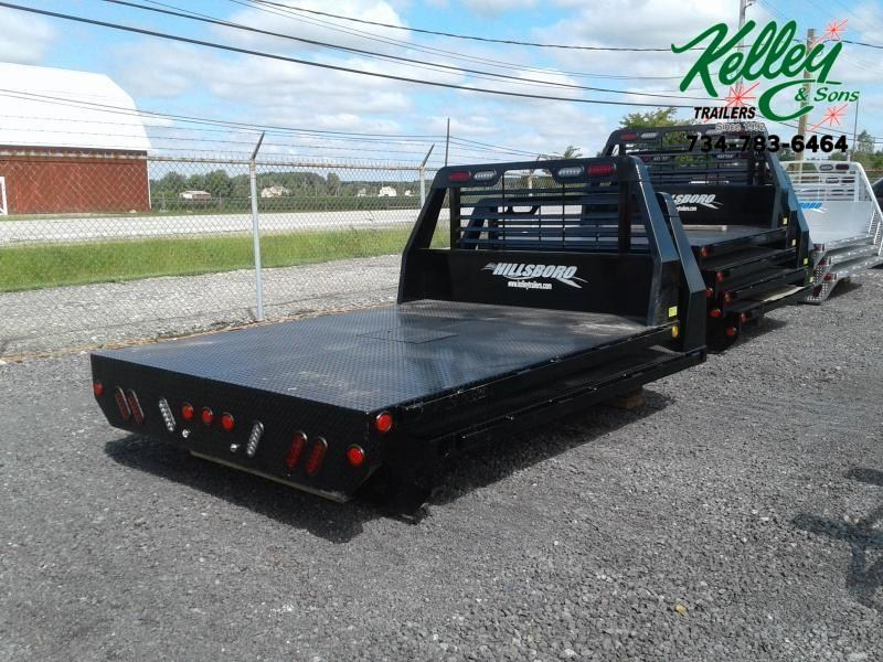 2022 Hillsboro Industries SLT Steel SWLB Truck Bed