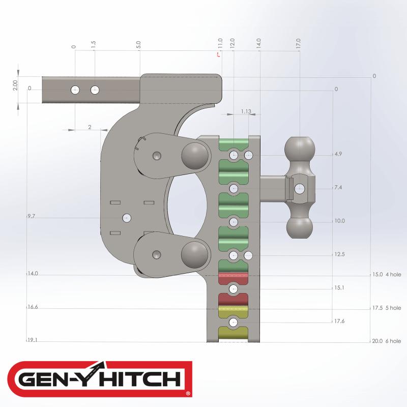 2020 Gen-Y Hitch GH-1124