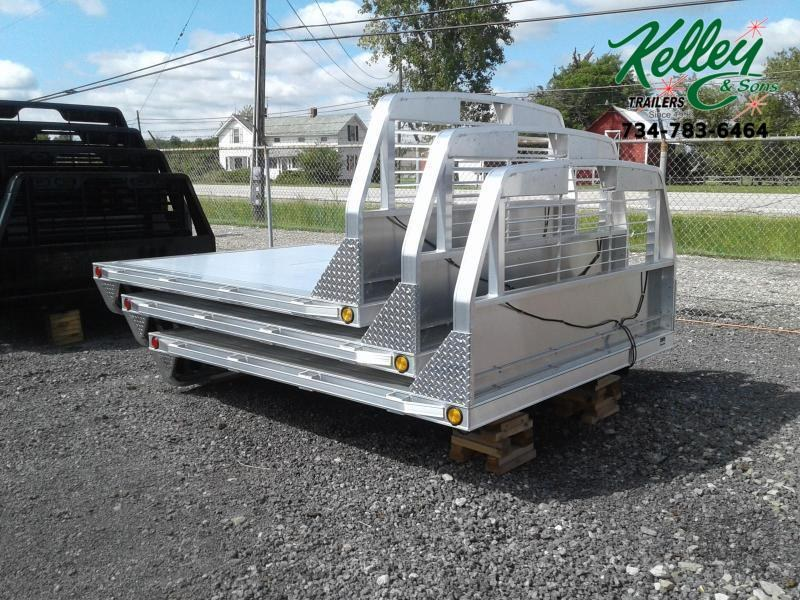 2021 Hillsboro Industries Series 2000 Aluminum Single Wheel Long Bed
