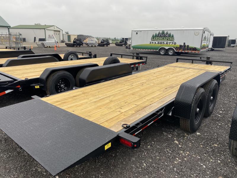 2021 Sure-Trac 7x18+4 14K Tilt Bed Equipment Trailer
