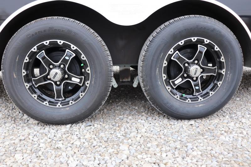 2020 Bravo Trailers 7x22 7K Star Aluminum Enclosed Snowmobile Trailer