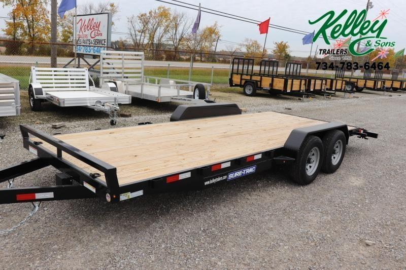 2021 Sure-Trac 7x20 10K Wood Deck Car Hauler