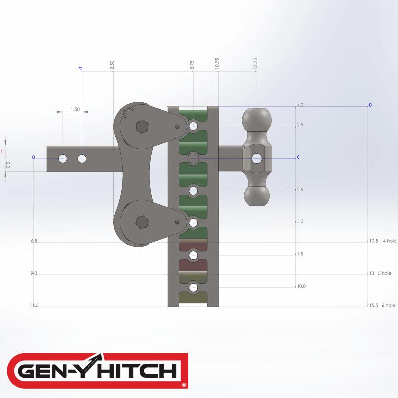 2020 Gen-Y Hitch GH-1024