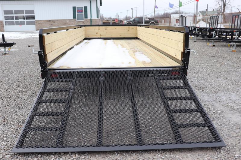 2020 Sure-Trac 7x20 10K 3-Board Utility Trailer