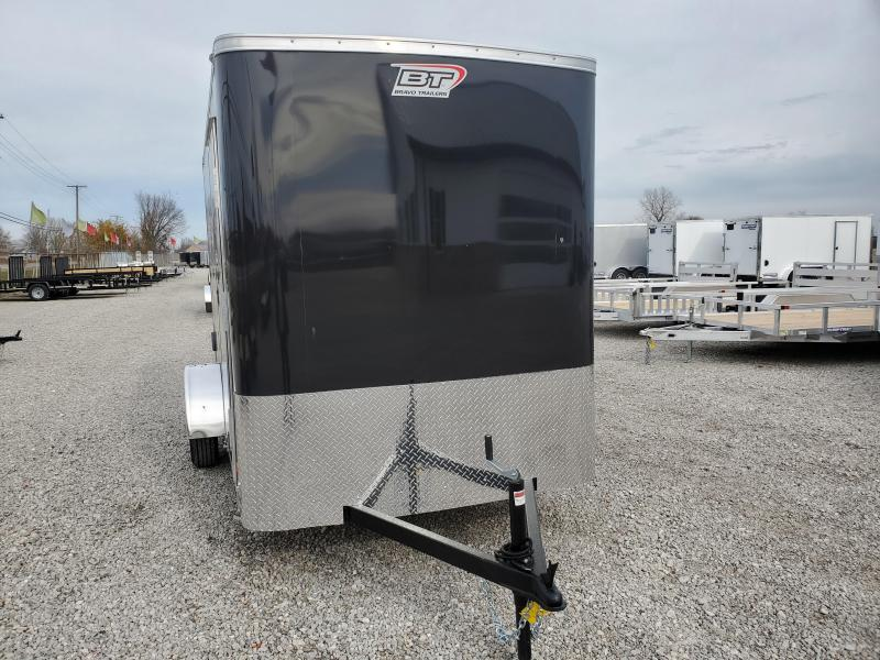 2021 Bravo Trailers 6x12 Scout w/ Ramp Door Enclosed Cargo Trailer