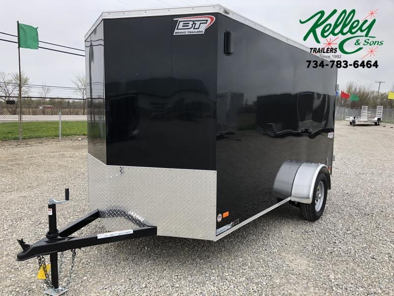 2021 Bravo Trailers 6x12 Scout w/ Double Doors Enclosed Cargo Trailer