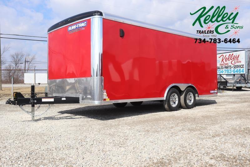 2021 Sure-Trac 8.5x18 10K Landscape Pro RT Cargo Trailer