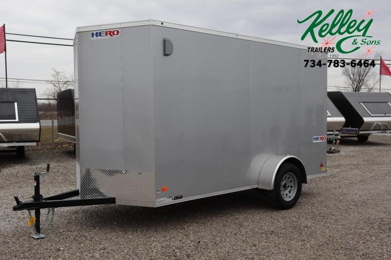 2021 Bravo Trailers 6x12 Hero w/ Ramp Door Enclosed Cargo Trailer