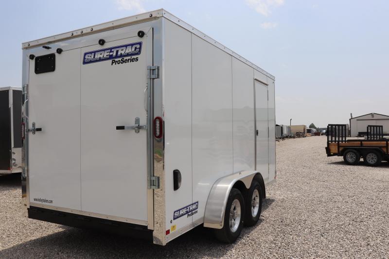 2020 Sure-Trac 7x14 7K Pro Series Wedge Enclosed Cargo Trailer