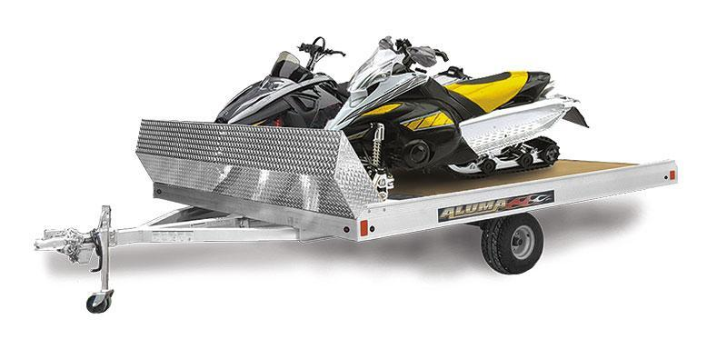 2020 Aluma 8610T Snowmobile Trailer