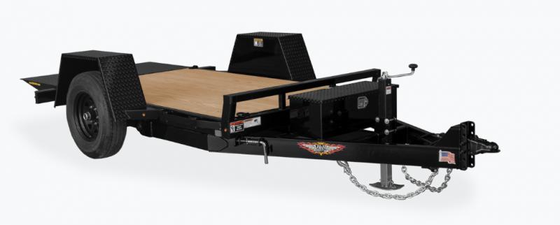 2021 H and H Trailer 78x12 Single Axle Gravity Tilt Equipment Trailer Equipment Trailer