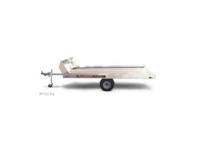 2021 Aluma 8605F Tilt Bed Snowmobile Trailer