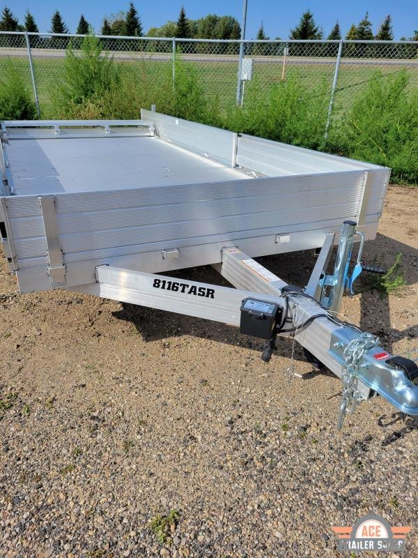 2022 Aluma 8116TASR Utility Trailer