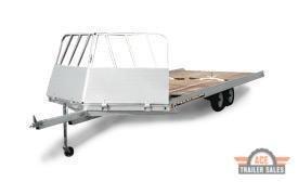 2022 Aluma 8624 Snowmobile Trailer