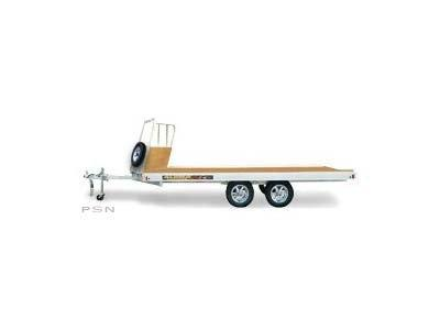 2021 Aluma 8614 Snowmobile Trailer