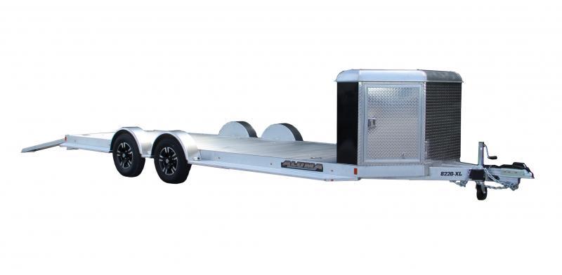 2021 Aluma 8220XL-TA-CB Car Hauler with Front Box