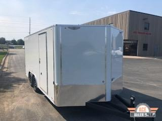 2021 H and H Trailer H10116TFTV-070 Enclosed Cargo Trailer