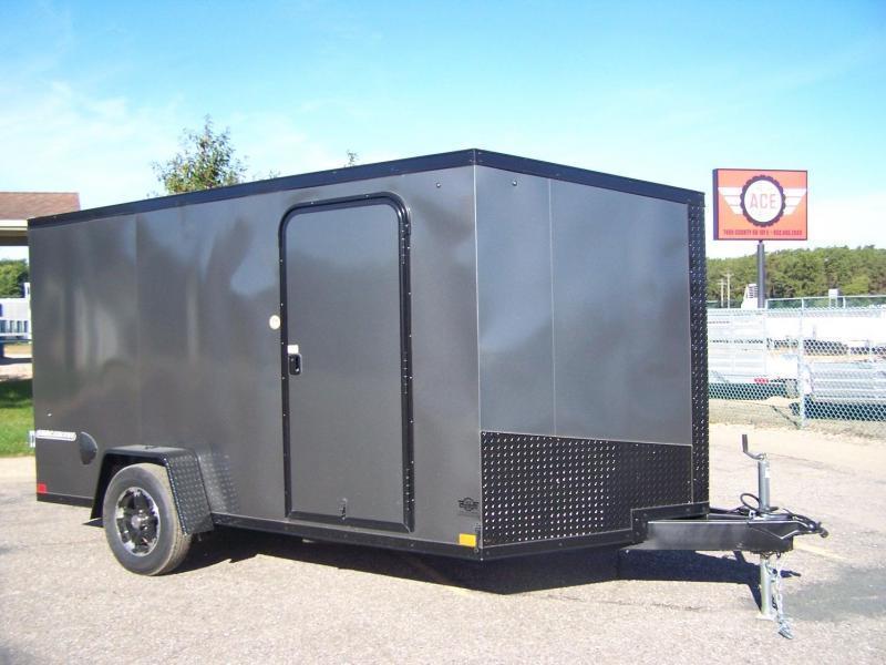 2021 Impact Trailers IMPSW6X10SI Enclosed Cargo Trailer - WHITE