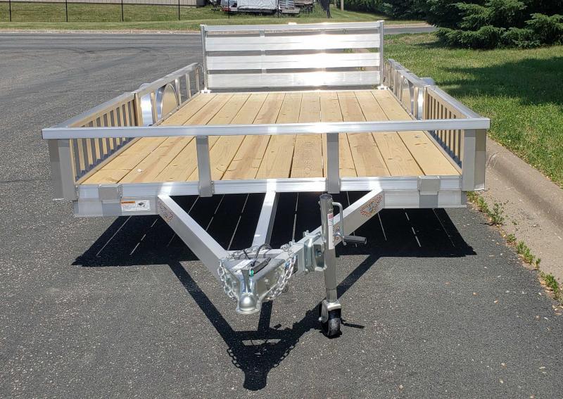 2021 H and H Trailer 82x14 Aluminum ATV Trailer 3K (H8214RSAV-030) ATV Trailer