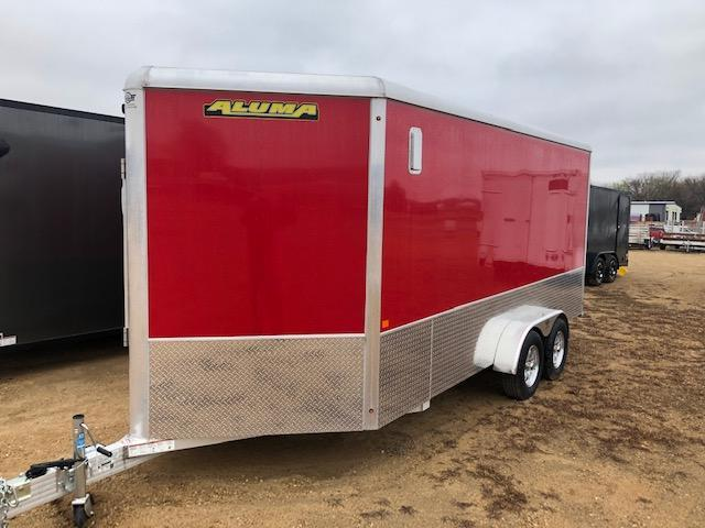 2021 Aluma AE716TAM Enclosed Cargo Trailer