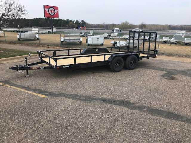 2021 H and H Trailer 82x20 Steel Electric Tilt Car / Racing Trailer