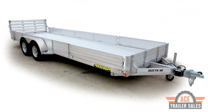 2022 Aluma 8116TA.SR Utility Trailer