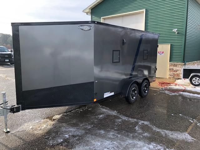 2020 Impact Trailers IMPSZ7x19TE Snowmobile Trailer