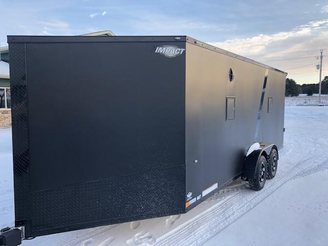 2020 Impact Trailers IMPSZ7x23TE2 SUBZERO Snowmobile Trailer