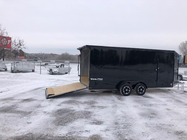 2021 Impact Trailers IMPTP7x19TE2  TRAILPRO Snowmobile Trailer