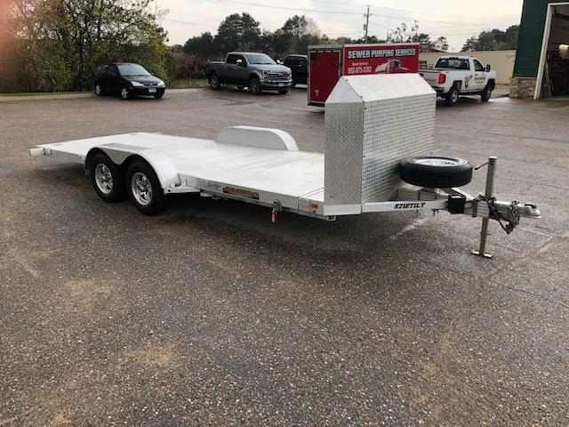 2016 Aluma Aluma 8218Tilt Car / Racing Trailer