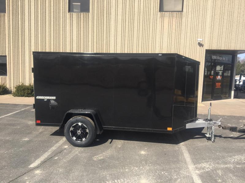 2021 Impact Trailers IMPASW5X10SI SHOCKWAVE ALUMINUM Enclosed Trailer