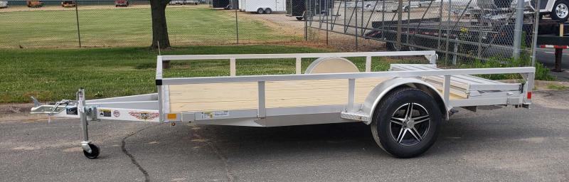 2021 H and H Trailer 76x10 Aluminum Rail (H7610RSA-030) Utility Trailer