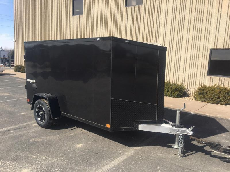 2021 Impact Trailers IMPASW5X8SI SHOCKWAVE ALUMINUM Enclosed Trailer - CHARCOAL GRAY