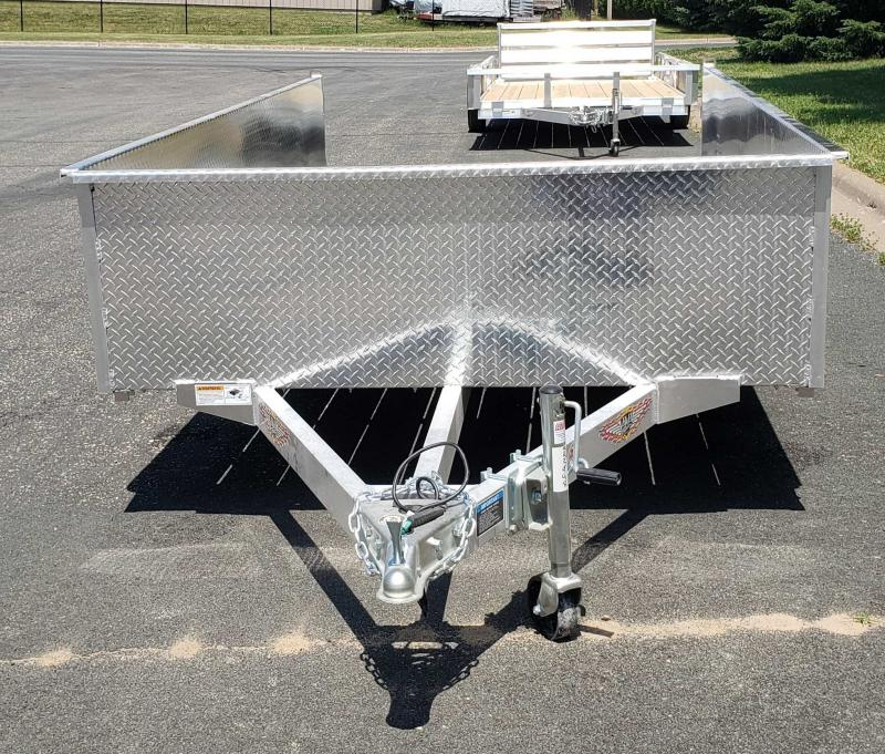 2021 H and H Trailer H7614SSA24-030 Utility Trailer